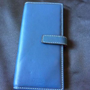 Coach slim case for ID, credit cards
